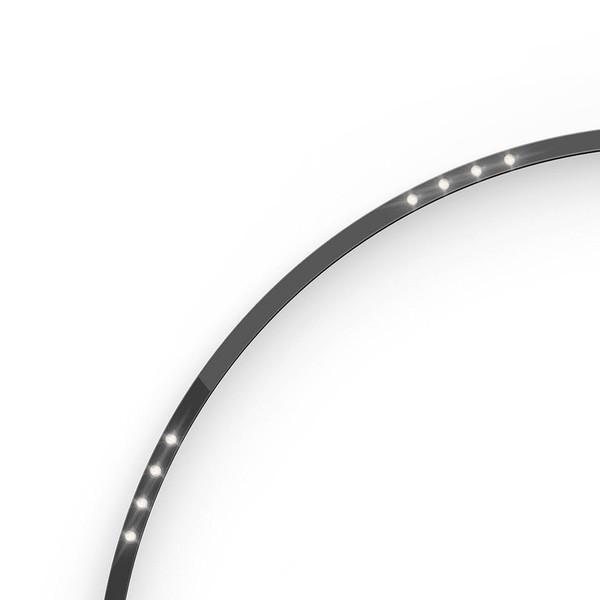 Artemide Architectural A.24 Curved Elements α = 45° F24° AR AQ52504 Black