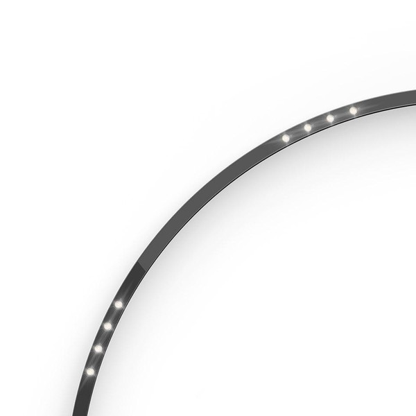 Artemide Architectural A.24 Curved Elements α = 45° F62° AR AQ52404 Black