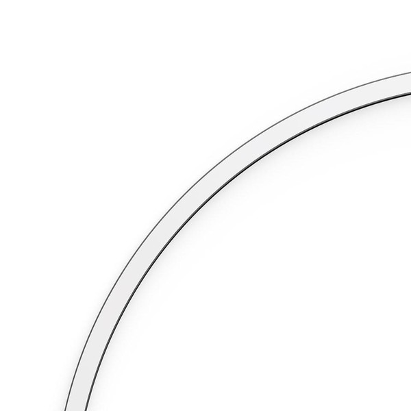 Artemide Architectural A.24 Curved Elements α = 45° r=750mm AR AQ52201 White