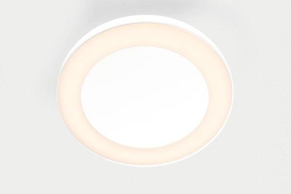 Modular Lighting Flat Moon Eclips 650 Ceiling Down LED Dali/pushdim GI MO 13362309 White structured