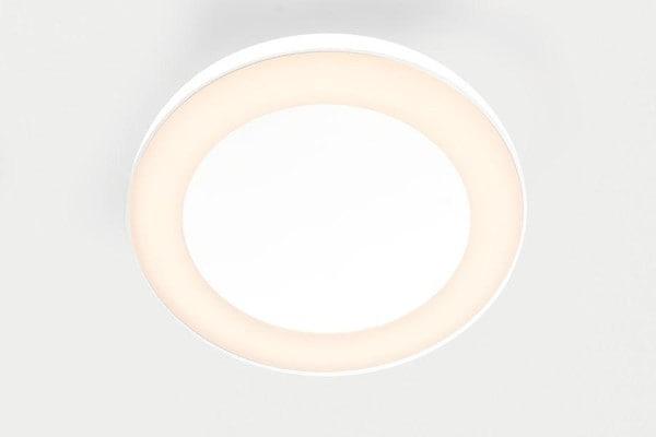 Modular Lighting Flat Moon Eclips 950 Ceiling Down LED Dali/pushdim GI MO 13363509 White structured