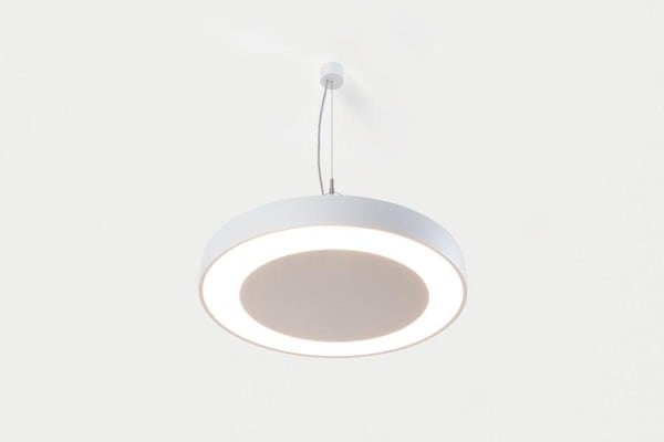 Modular Lighting Flat Moon Eclips 950 Suspension Down LED Dali/pushdim GI MO 13373509 White structured