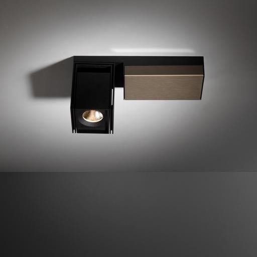 Modular Lighting Rektor LED Warm Dim Tre Dim GI MO 12826367 Black structured / Smoked bronze